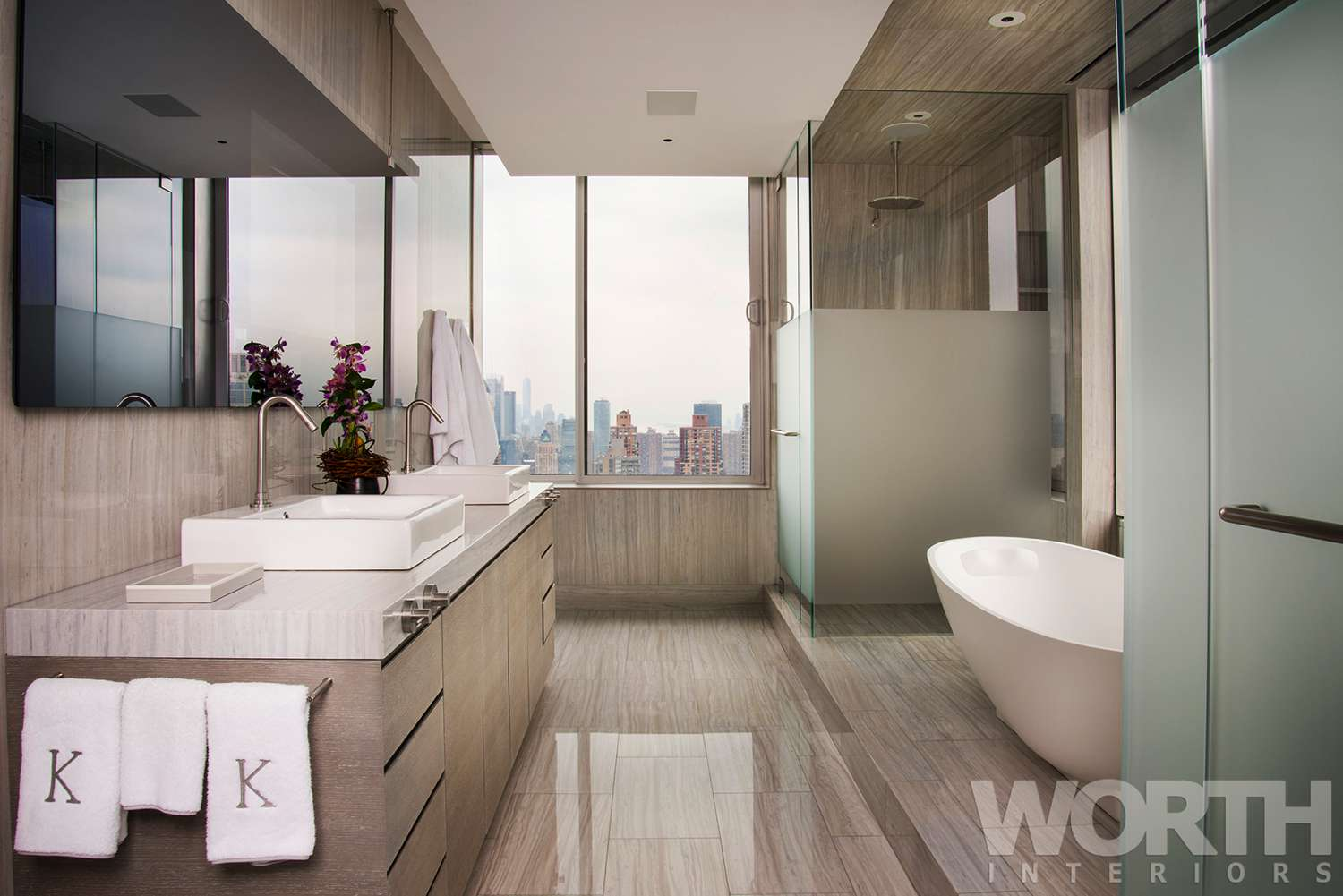 Manhattan Master Bathroom