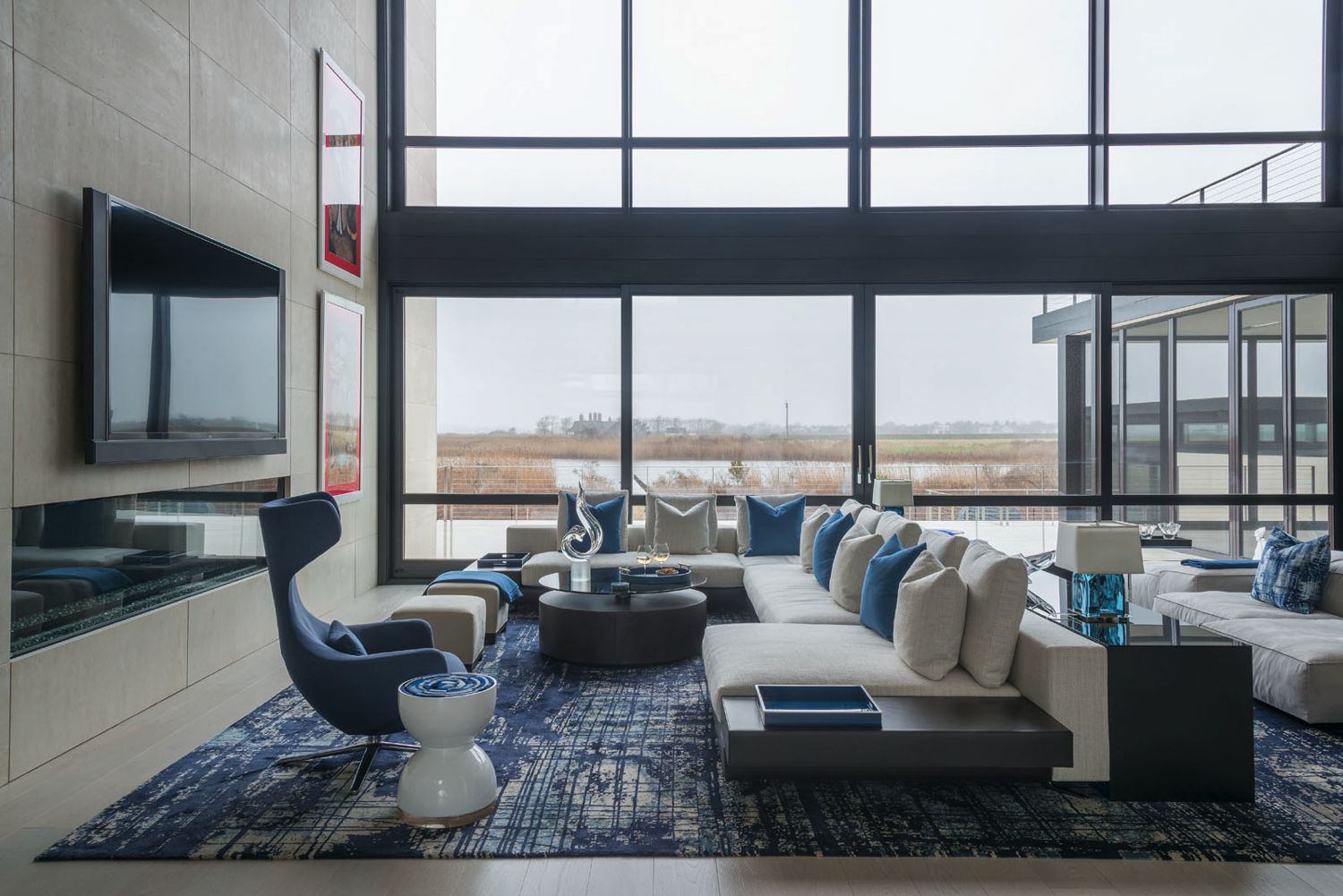 Bridgehampton Living Room